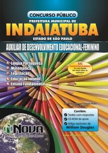 Apostila Concurso Prefeitura de Indaiatuba para Auxiliar de Desenvolvimento Educacional - Feminino